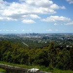 Brisbane CBD from Mount Coot-tha