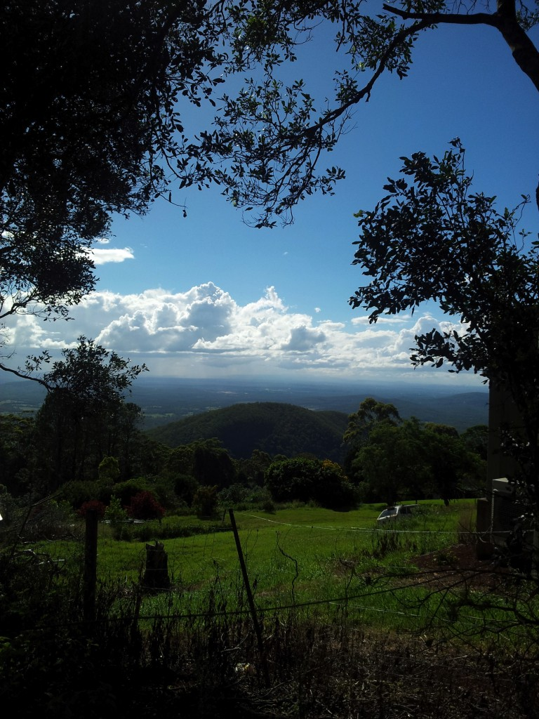 Panorama from Mount Tamborine